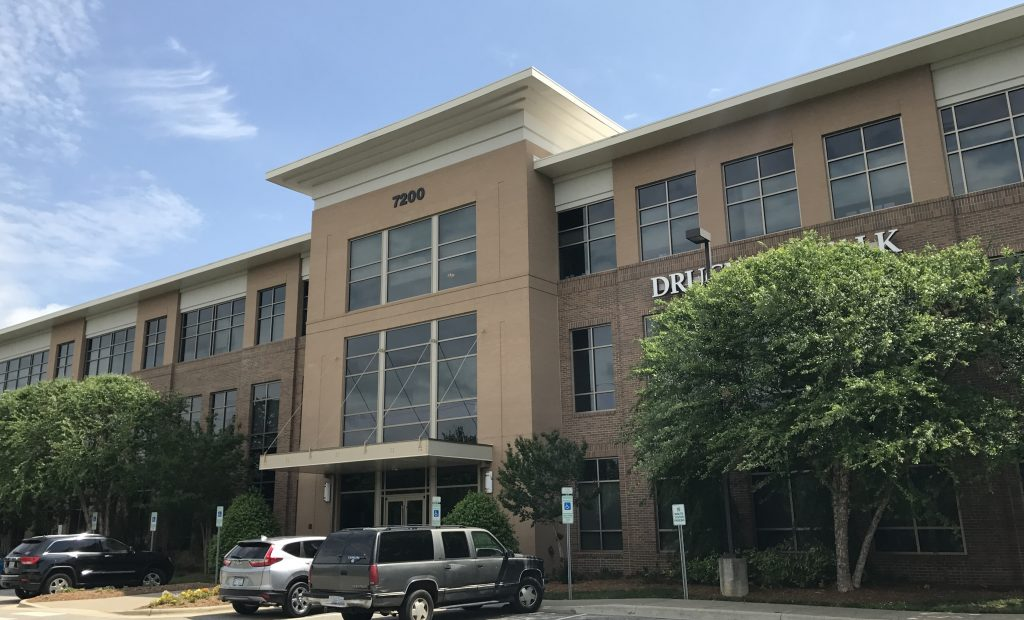 Leasing and Management of 7200 Creedmoor, a Medical and Professional Office building in Raleigh, NC