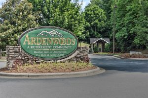 Ardenwoods Enterance Sign